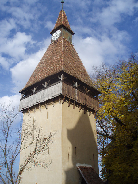 The tower at Biertan.
