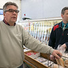 Romano's Market in Fitchburg will be closing its doors on Saturday, Feb. 15, 2020 for the last time. The family of Mike Romano, who owned the market and passed away recently, got together on Thursday at the market to talk about him, the history of the market and their reason they are closing. Richard Romano and his nephew Joshua Romano chat as they hang out near the register. SENTINEL & ENTERPRISE/JOHN LOVE