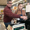 Romano's Market in Fitchburg closed its doors on Saturday, Feb. 15, 2020 for the last time. Mike Romano who owned the market passed away recently and the family has decided to close the market after over 100 years in business. Just before the doors where locked for the last time Mike's granddaughter Isabelle Ricci rang up some of the last customers with help form her uncle Richard Romano. SENTINEL & ENTERPRISE/JOHN LOVE