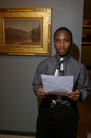 Spoken word performances by students in the American Literature class.
