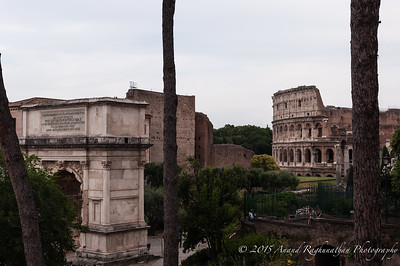 Close walk from the Roman Forum