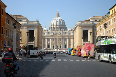Approaching St. Peters