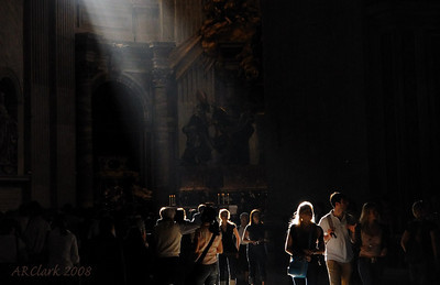 Beautiful light in St. Peters.