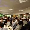 Conference banquet at the Terrazza Caffarelli.