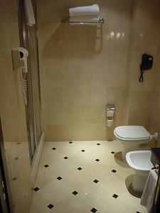 The Hotel Bathroom (1)  The bathroom - very posh