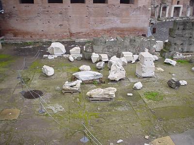 Ruins of the Mercati Traianei (2)
