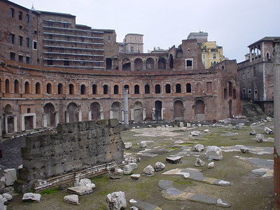 Ruins of the Mercati Traianei (1)