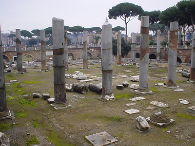 Ruins of the Foro Traiano (1)