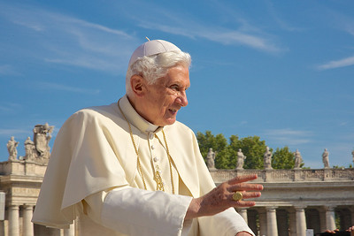 Bénédiction de Benoit XVI