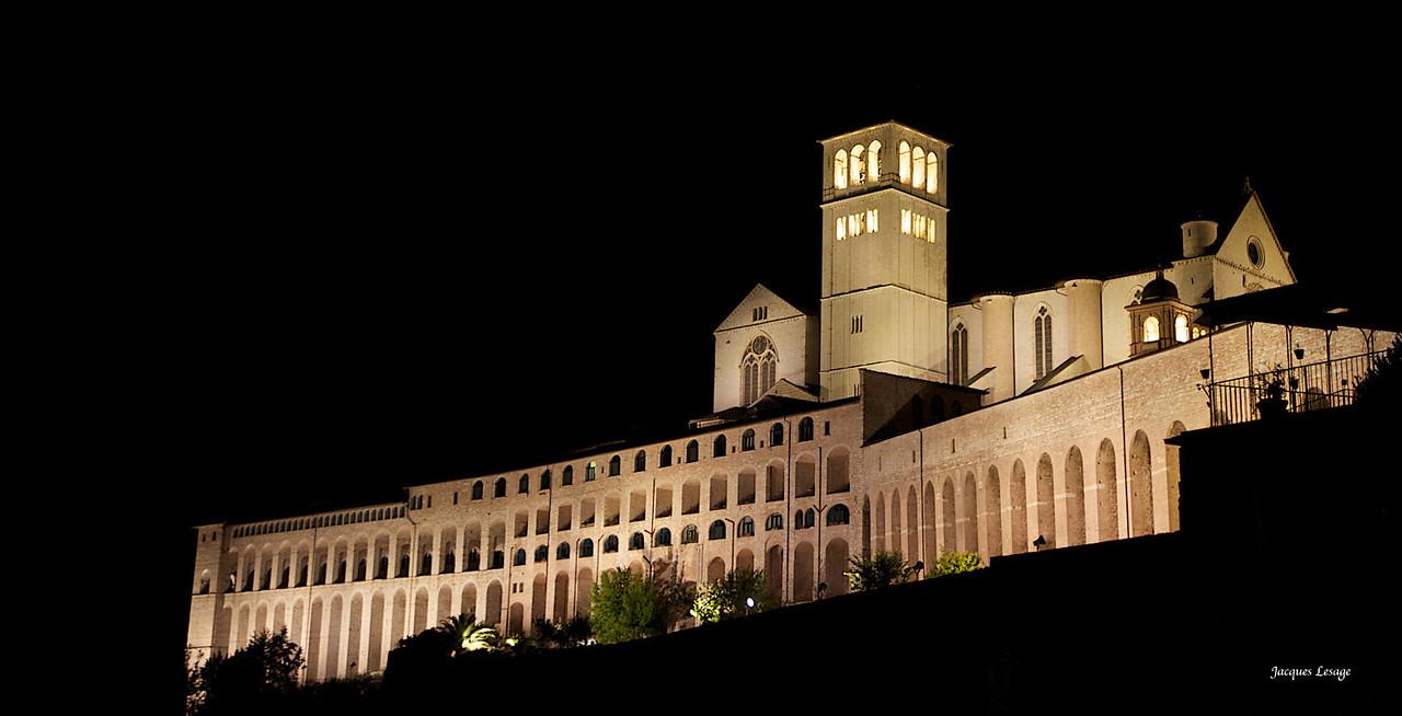 Basilique St-Francois à Assise.
