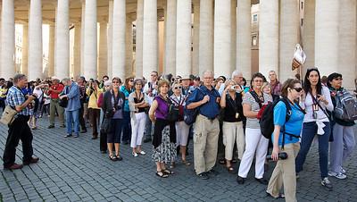 Pèlerins du Groupe Régina Pacis , Rome - Medjugorje automne 2012.