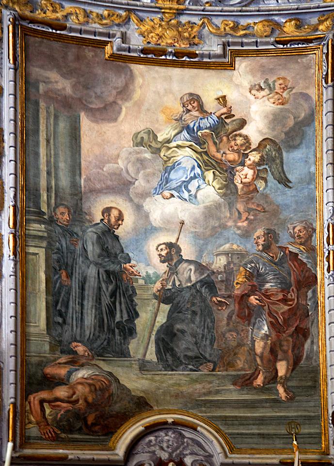 St- Ignace de Loyola - Chapelle des Jésuites dans le vieux Dubrovnik.