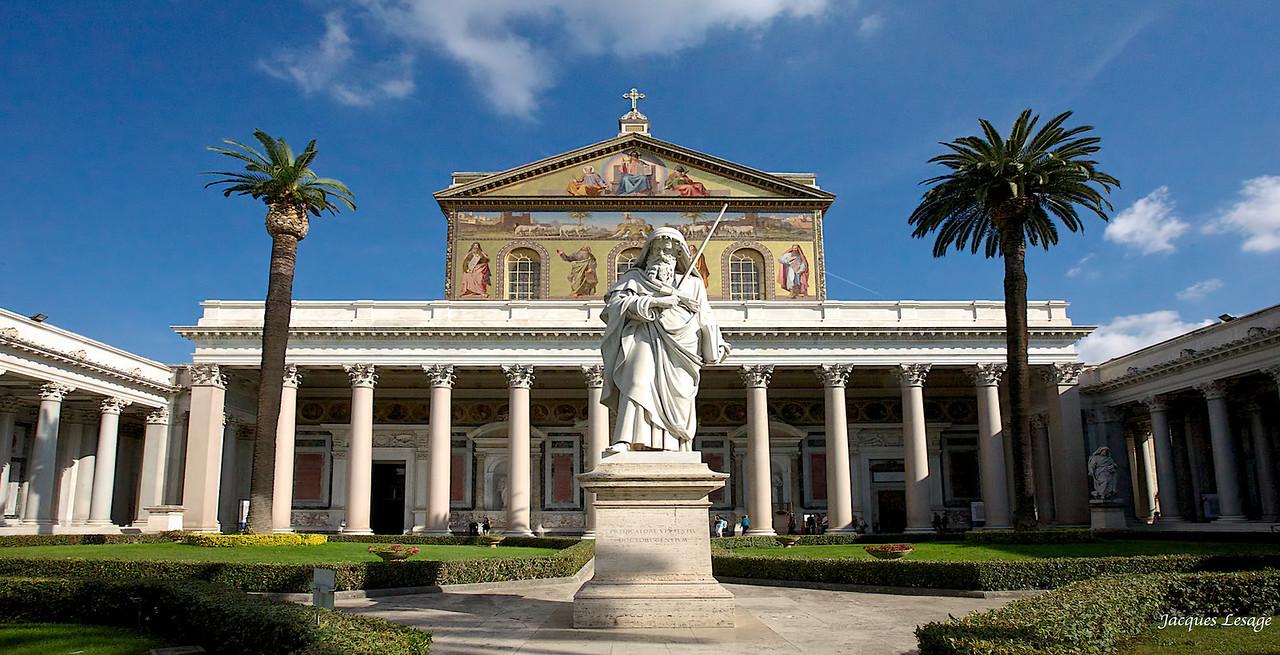 Basilique St-Paul hors les murs.