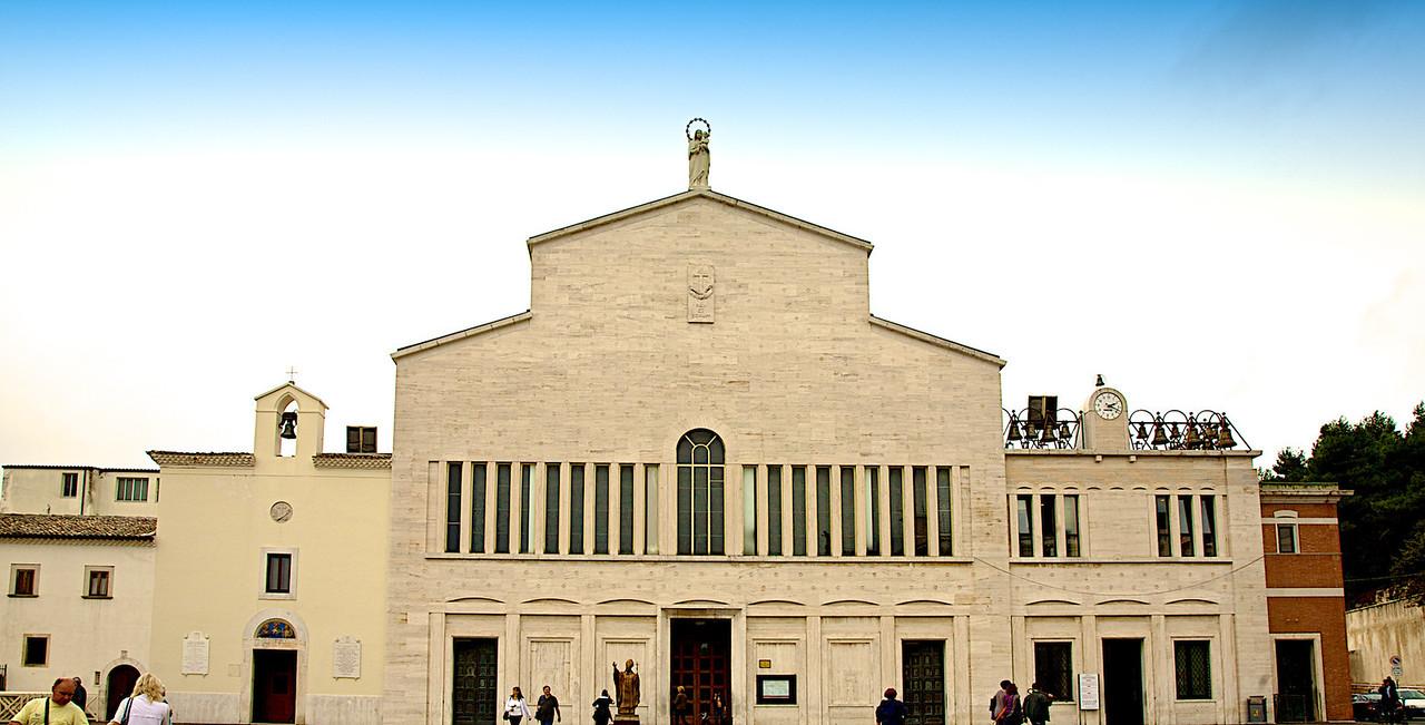 La vielle Chapelle de San Giovanni rotondo.