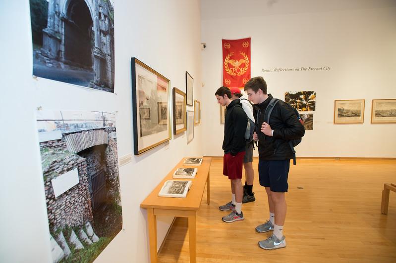 Joe Zipoli's exhibit Rome: Reflections on The Eternal City