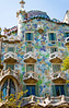 Architech's Row, Gaudi home made with ceramic scraps, Barcelona