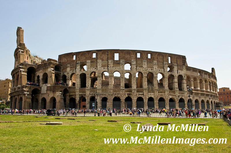 Rome's iconic Colosseum could hold 50,000 or more spectators!