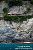 Houses litterally dangle from sheer cliffs in Gulf of La Spezia