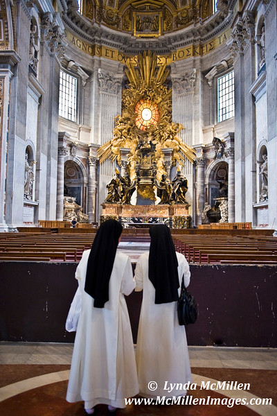 Nuns Visiting St. Peter's Cathedral