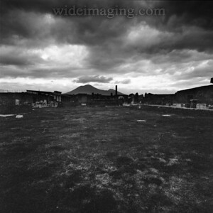 Pompeii and Vesuvius, December 2003. A lot of history still to be unearthed, with a new discovery every year.