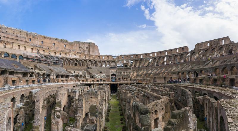 Colosseum Panorama, Rome