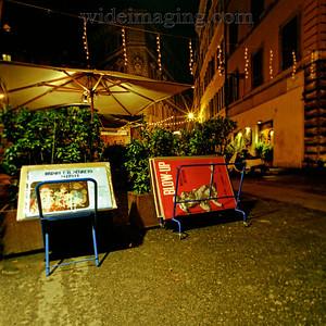 Via del Governo Vecchio looking toward Via del Teatro Pace near Piazza Navona, December 28, 2003.