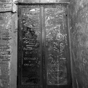 Saint Peter's Cupola access doors. December 28, 1993.
