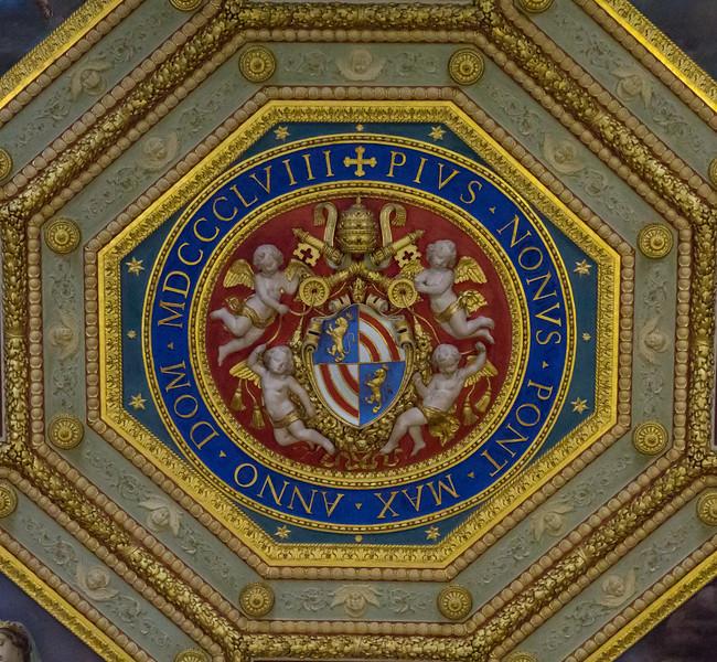 Vatican Museum ceiling
