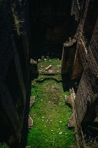 View into one of the Pool Ruins in the Roman Forum