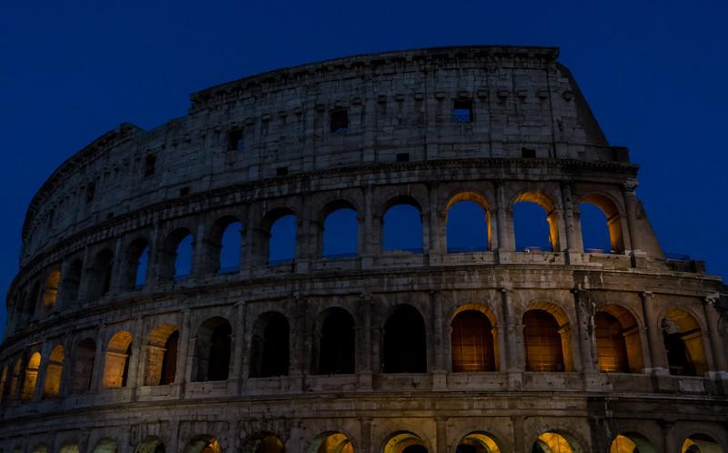 Late Colosseum N Lights
