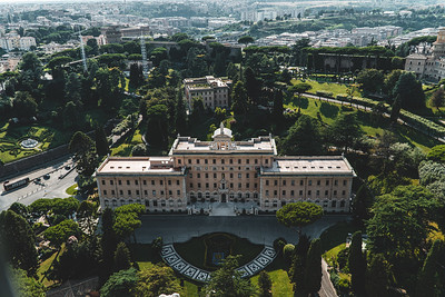 View of a Building in Vatican City