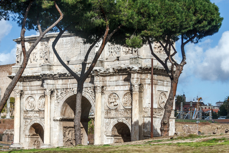 Arch of Constantine - Rome