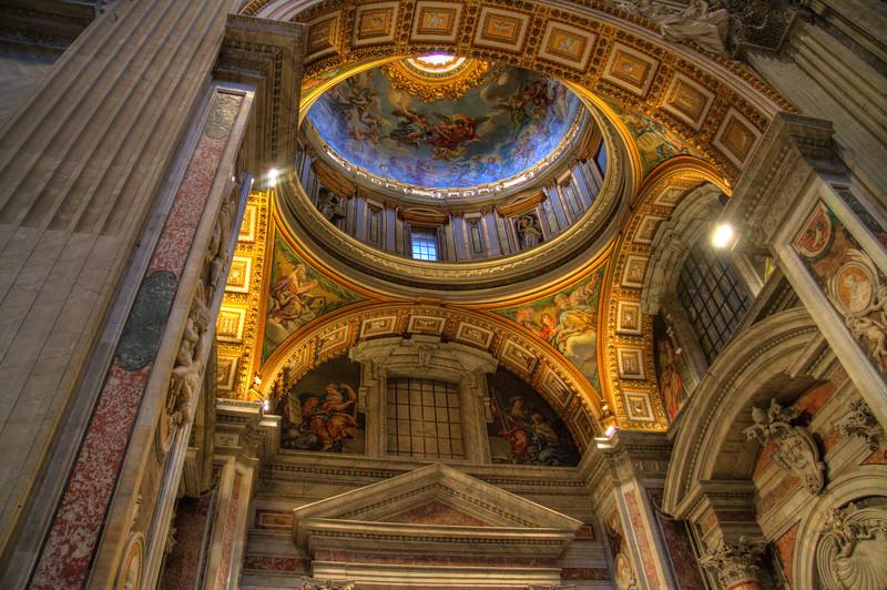 St. Peter's Basilica - Interior