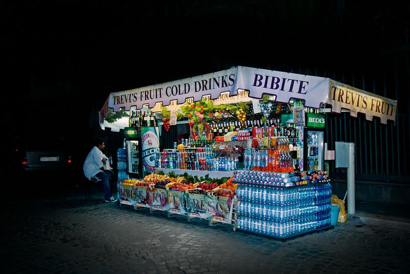 Street stall, Rome