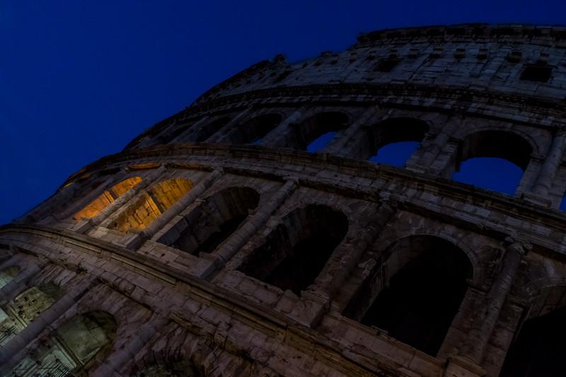 The Colosseum @ Night
