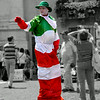 Street entertainer, Piazza Navona, Rome