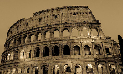 Aged Colosseum Photo