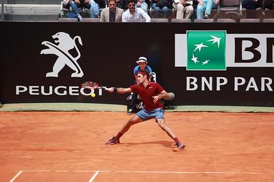 Federer reach fh