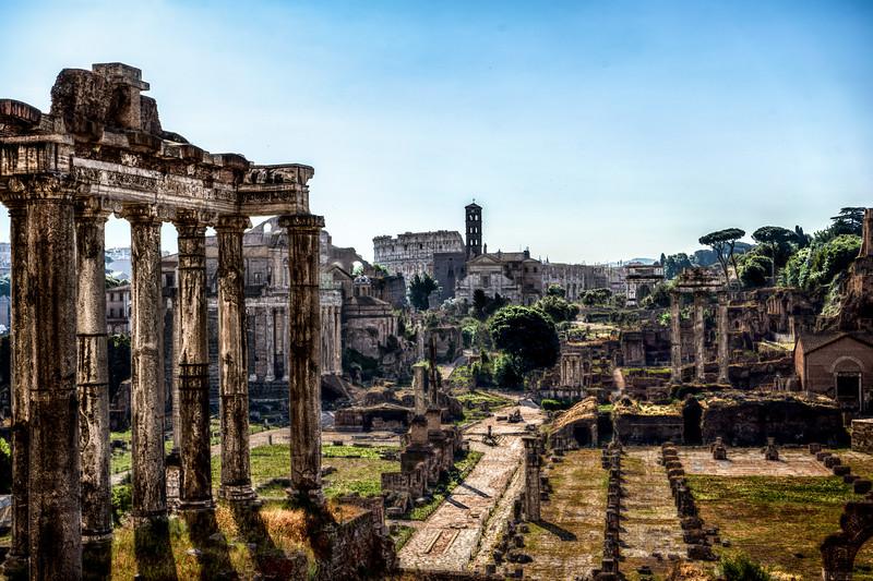 Roman Forum HDR