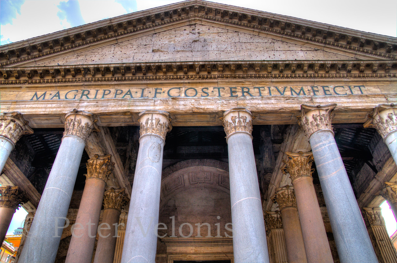Entrance to Pantheon