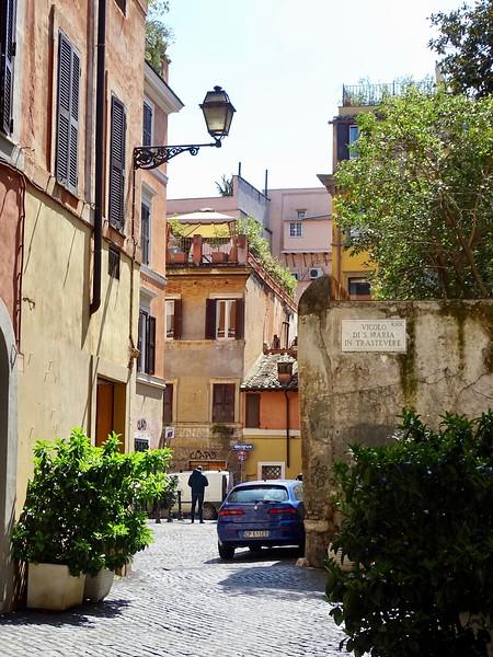 Vicolo di Santa Maria in Trastevere