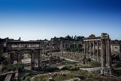 HDR Roman Forum