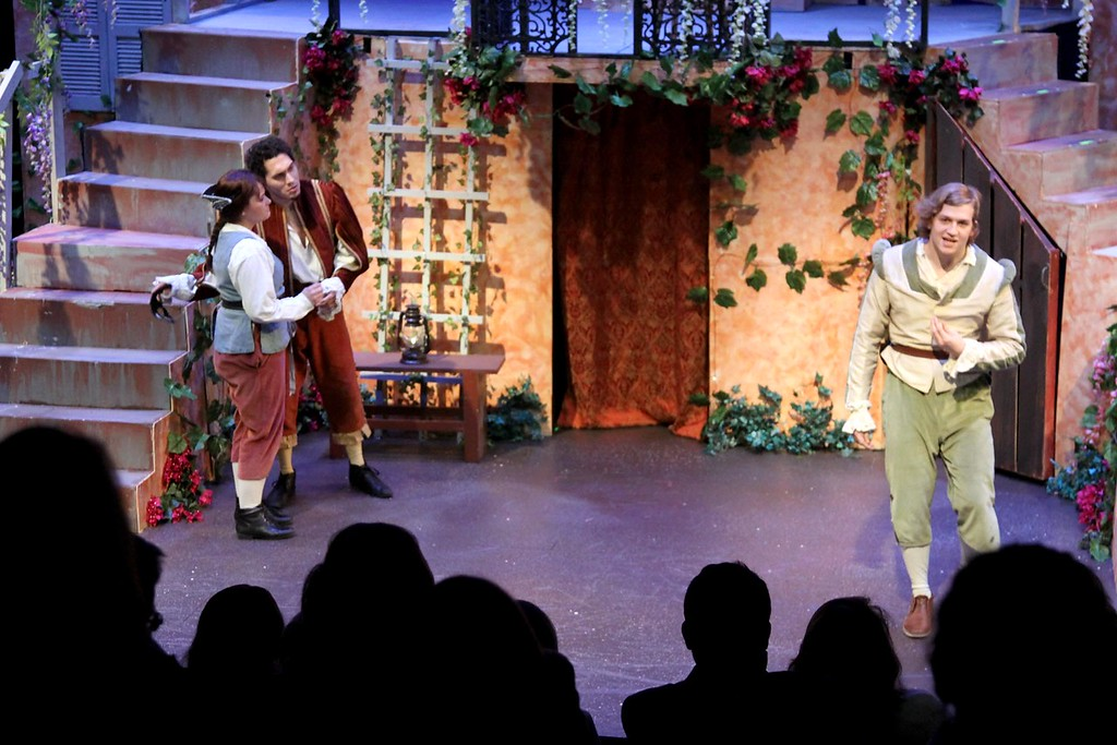 . Scenes from Romeo and Juliet at the new MCC Donahue Family Academic Arts Center in Lowell. SUN/ David H. Brow