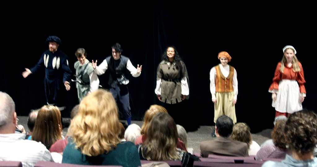 . Start of the play Romeo and Juliet at the new MCC Donahue Family Academic Arts Center in Lowell. SUN/ David H. Brow