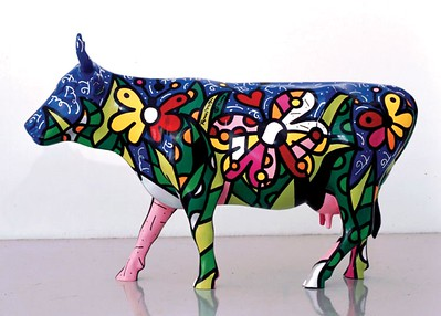 Butterfly CowRomero BrittoCowParade New York 2000