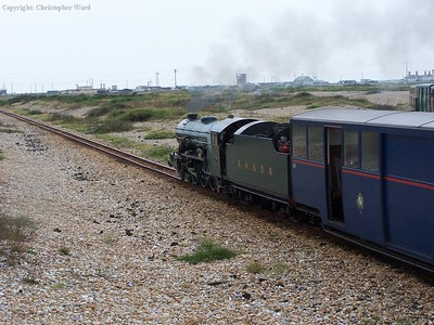Southern Maid passes through