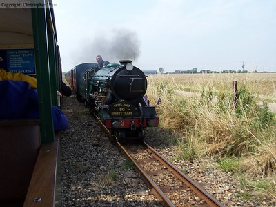 Southern Maid at speed