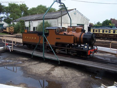 The Bug sits on New Romney turntable