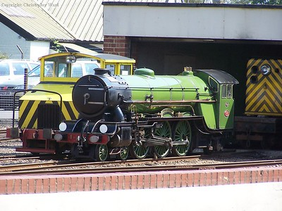 Green Goddess approaching the end of overhaul