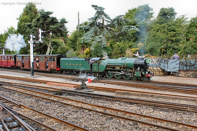 The pacific gets a Hythe train underway